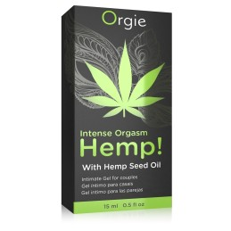 Hemp! Intense Orgasme Gel Excitation Cannabis