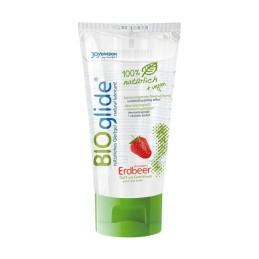 Lubrifiant Biologique Bioglide fraise 80ml