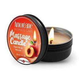Bougie Massage Candle Peche Hydratante