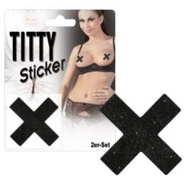 Sticker pour seins Titty X
